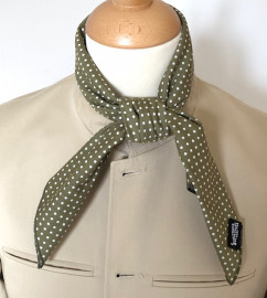 Khaki Polka Dot Neckerchief
