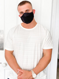 Black Washable Cotton Facemask
