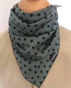 Khaki Star Bandana Face Covering